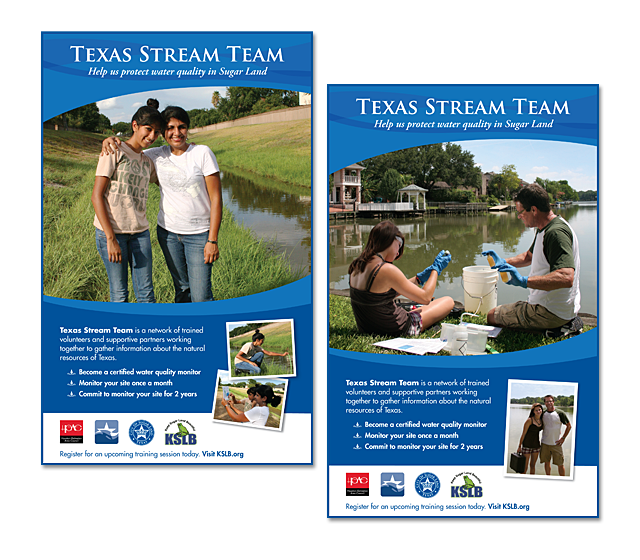 Texas Stream Team Ads