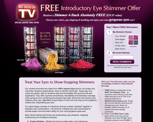 Free Shimmers