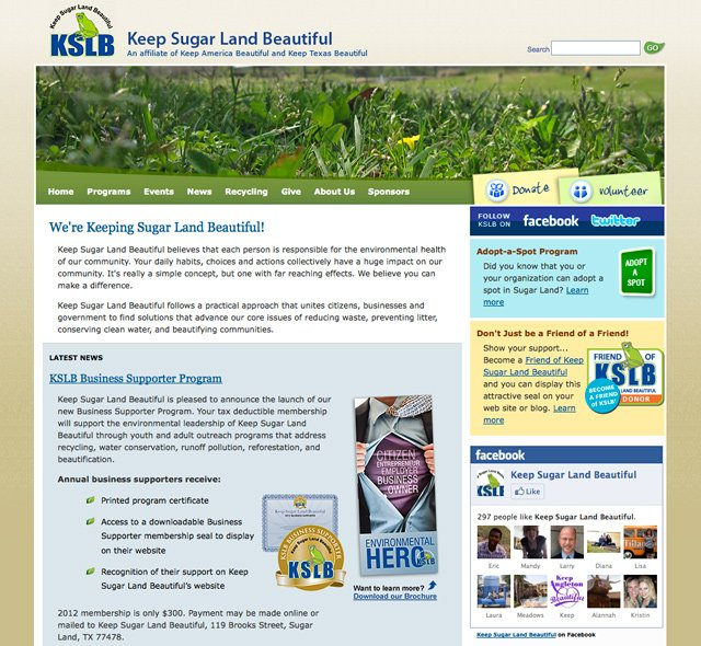 Keep Sugar Land Beautiful