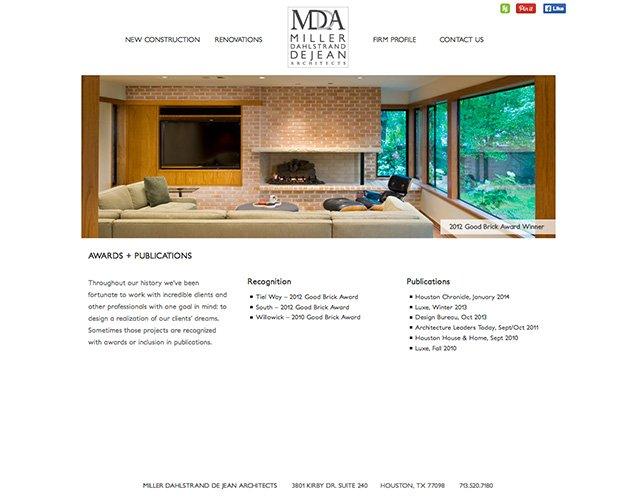 Miller Dahlstrand De Jean Architects