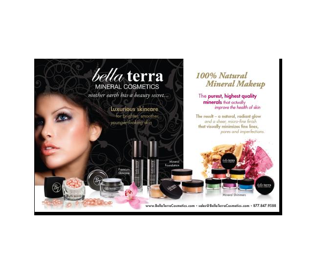 Bella Terra Mineral Cosmetics Ad