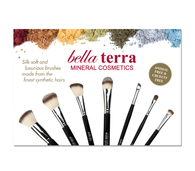 Bella Terra Mineral Cosmetics Point of Sale Displays