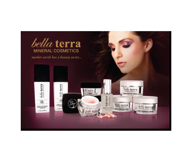 Bella Terra Mineral Cosmetics Poster