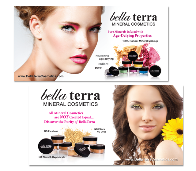 Bella Terra Mineral Cosmetic Poster