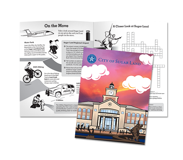Sugar Land – City Manager's Office Activity Book