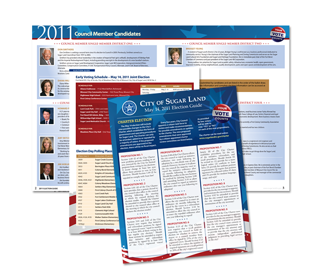 Sugar Land Election Guide 2011