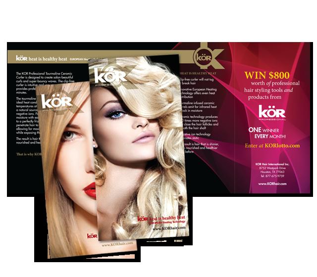 Kor Hair Brochures
