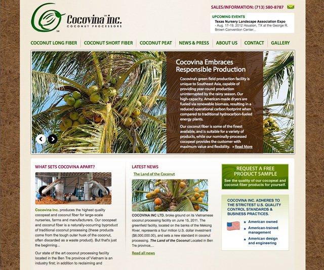 Cocovina (Homepage)