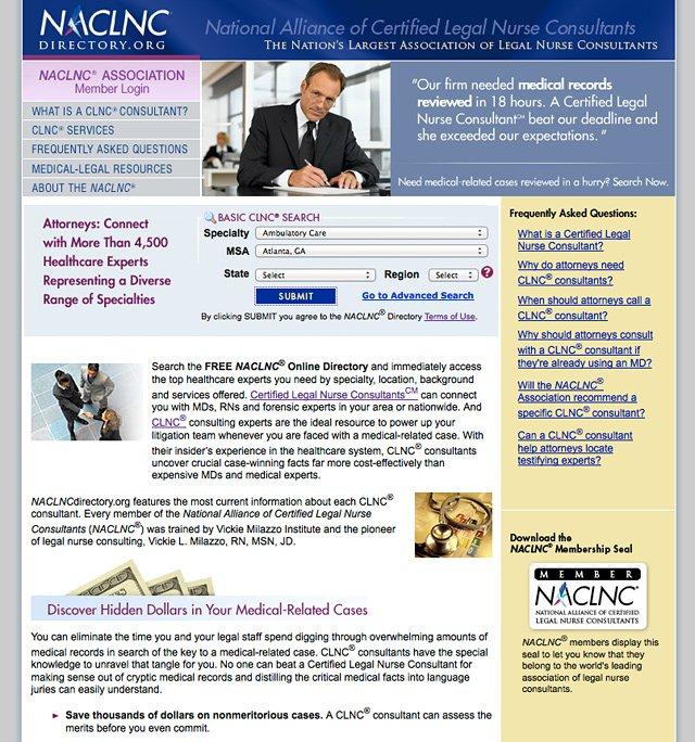 NACLNC Directory
