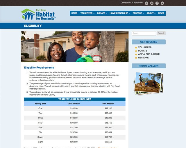 Fort Bend Habitat For Humanity