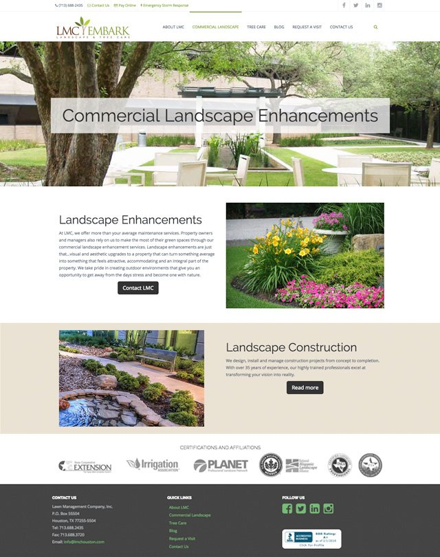 Lawn Management Company Houston